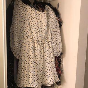 World Traveler off the shoulder dress—NWOT